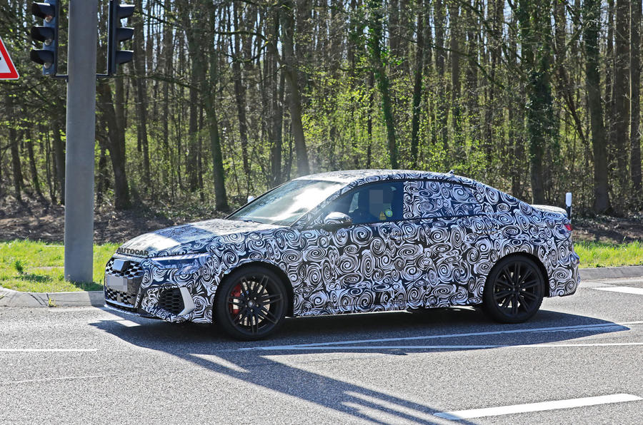 2020 Audi RS3 saloon prototype - side