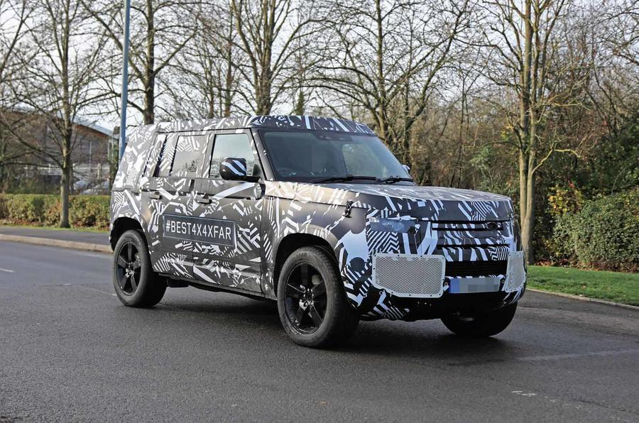 New Land Rover Defender: interior leaked ahead of ...