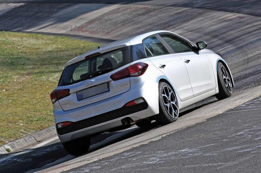 New Hyundai i20 N hot hatch tests at the Nürburgring | Autocar