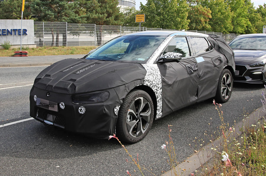 2021 Kia EV prototype spy shots