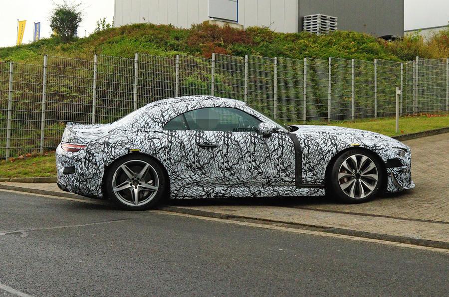 2021 Mercedes-Benz SL AMG prototype