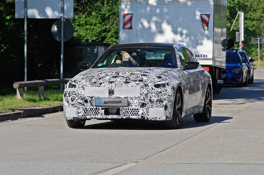 2021 BMW 2 Series Coupe: best look yet at RWD model | Autocar