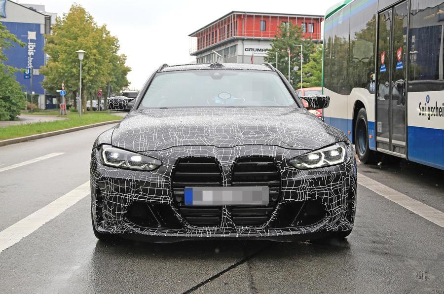 2022 BMW M3 Touring prototype