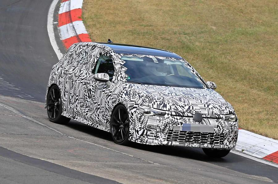 New 2020 Volkswagen Golf Gti Hits The Nurburgring Autocar
