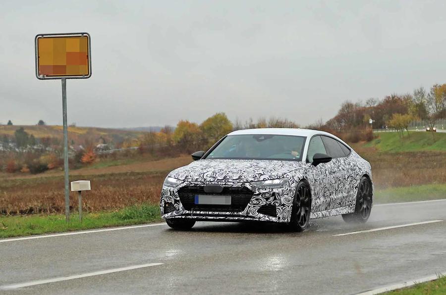 New 2019 Audi RS7 Sportback to break 600bhp barrier | Autocar