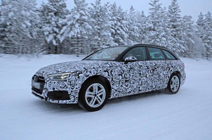Audi Preparing Bigger A4 And A4 Avant Update For 2020
