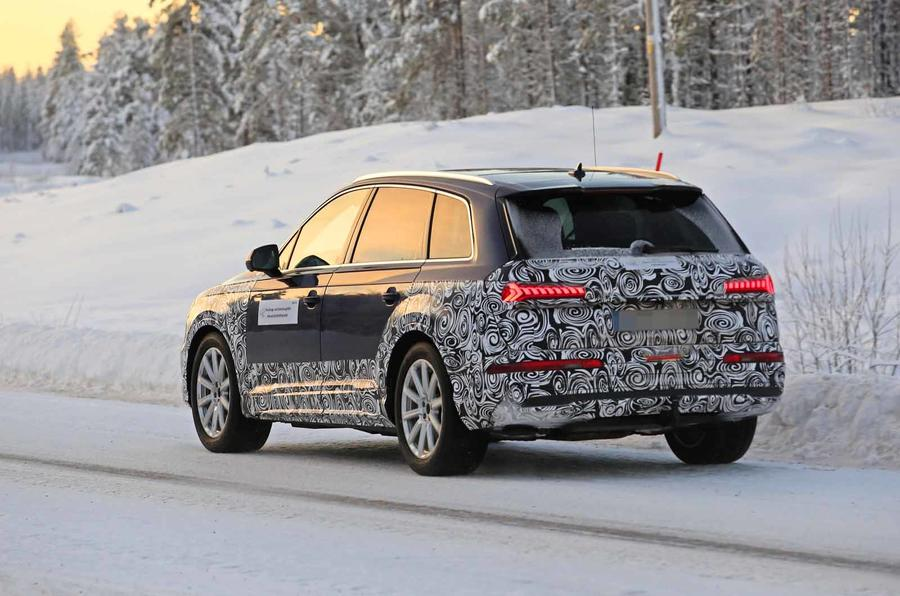 Audi Q7 2019 Facelift To Bring New Tech And Greater