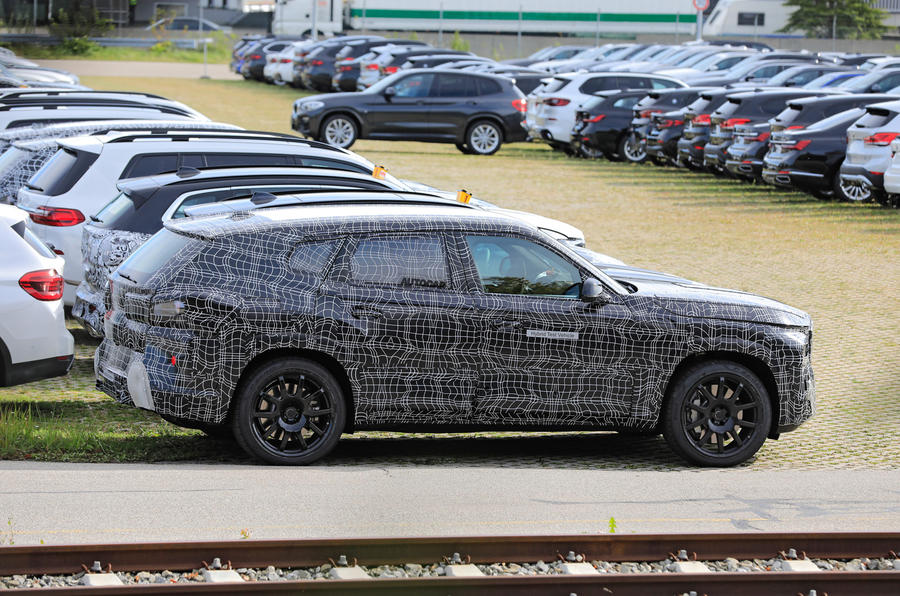 2020 BMW X8 prototype