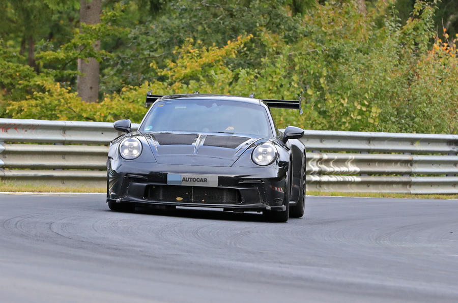 2020 Porsche 911 GT3 RS at the Nurburgring