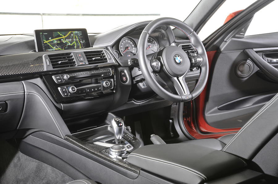 BMW M3 Competition Pack dashboard