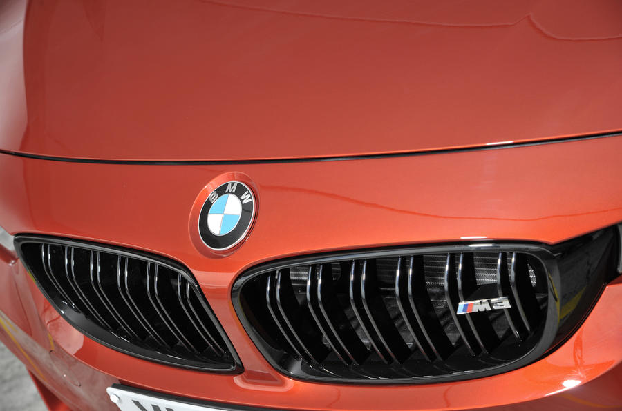 BMW M3 Competition Pack front grille