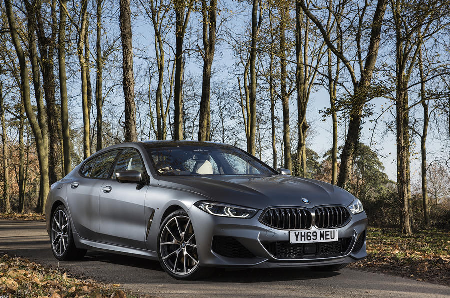 BMW 8 Series Gran Coupe 2019 UK first drive review - static front