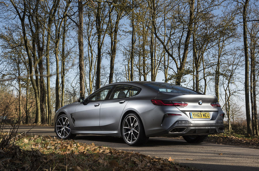 BMW 8 Series Gran Coupe 2019 UK first drive review - static rear
