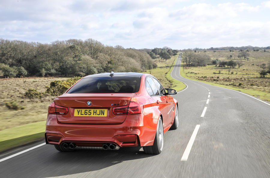 155mph BMW M3 Competition Pack