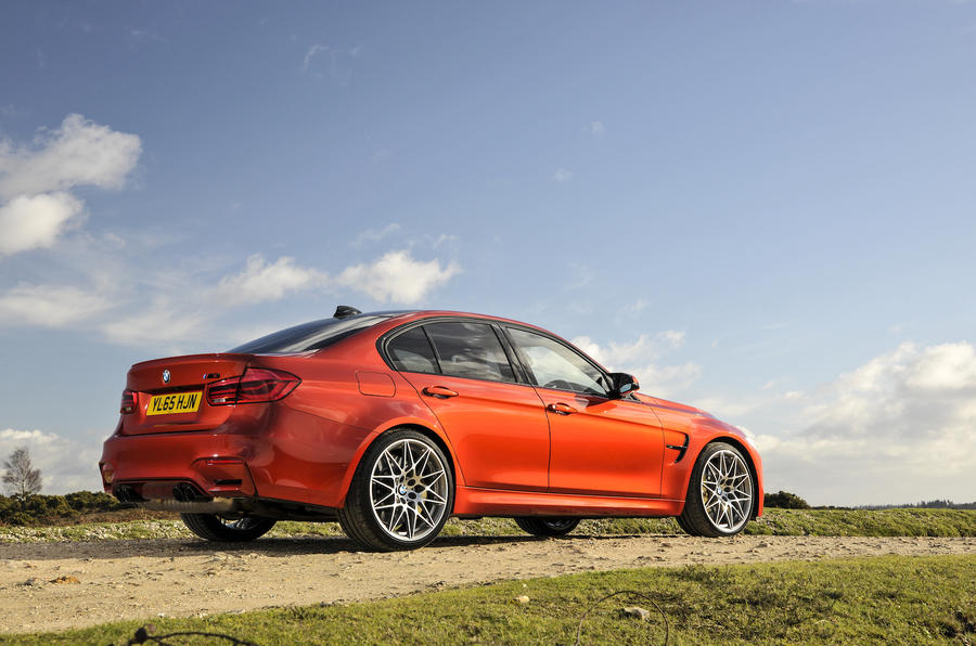 BMW M3 Competition Pack rear quarter
