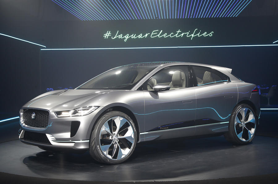 2018 jaguar i pace. unique pace 2018 jaguar ipace electric suv revealed with jaguar i pace a