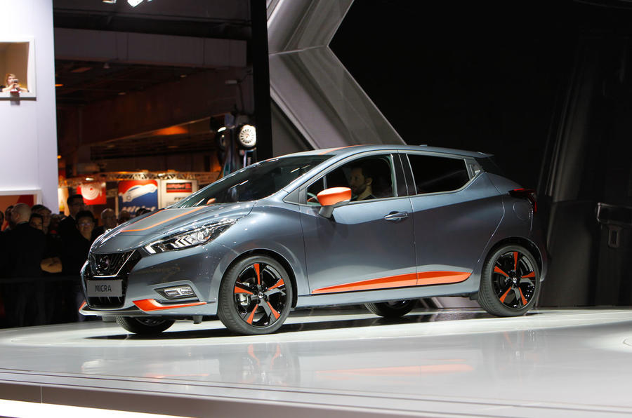 Nissan Micra at the Paris motor show 2016 - show report and gallery