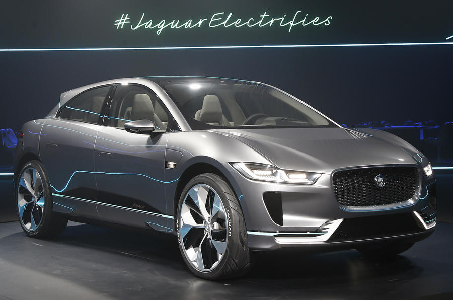 2018 jaguar i pace electric suv revealed plus exclusive. Black Bedroom Furniture Sets. Home Design Ideas