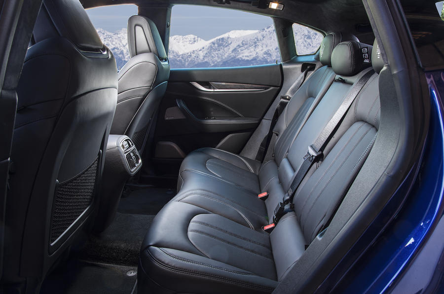 Maserati Levante SUV rear seats