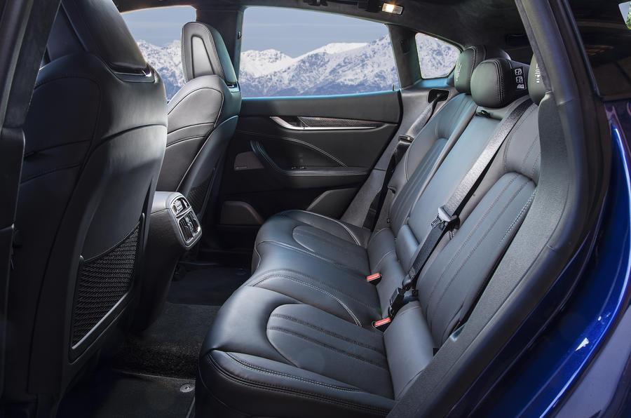 Maserati Levante SUV rear seats