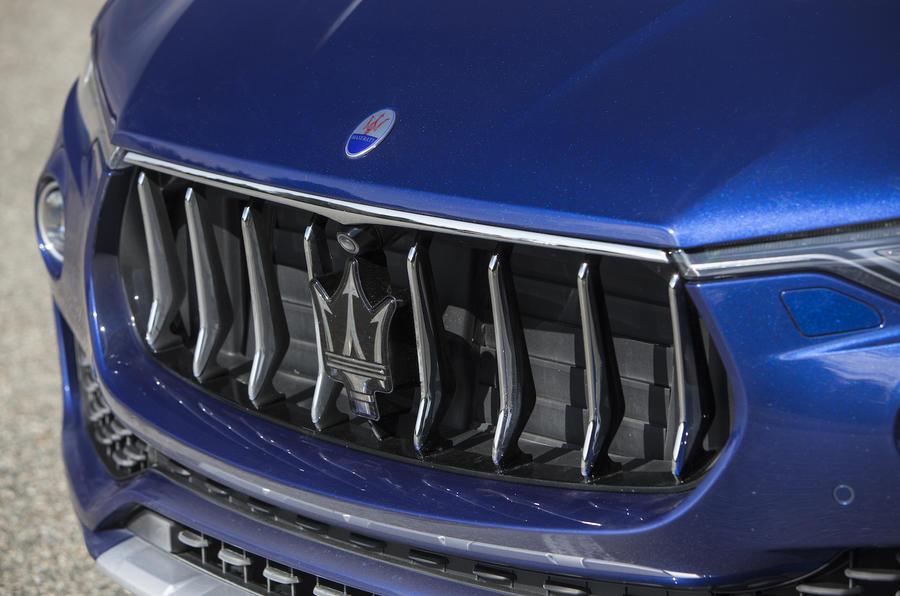 Maserati Levante SUV grille