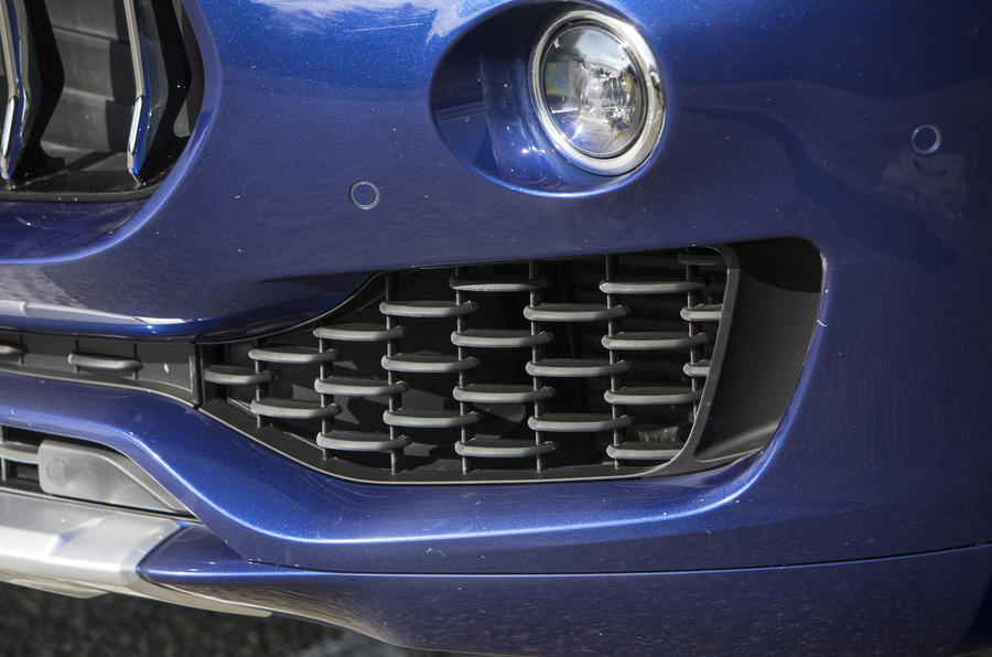 Maserati Levante front air vents
