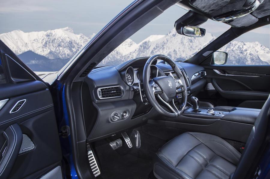 Maserati Levante SUV interior