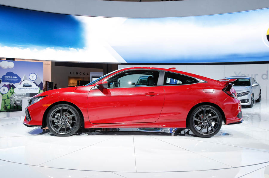 Honda Civic Si prototype previews US performance model