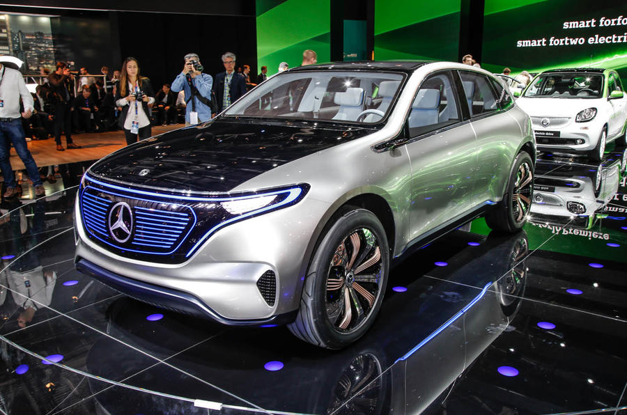 Mercedes Generation EQ concept revealed at Paris motor show