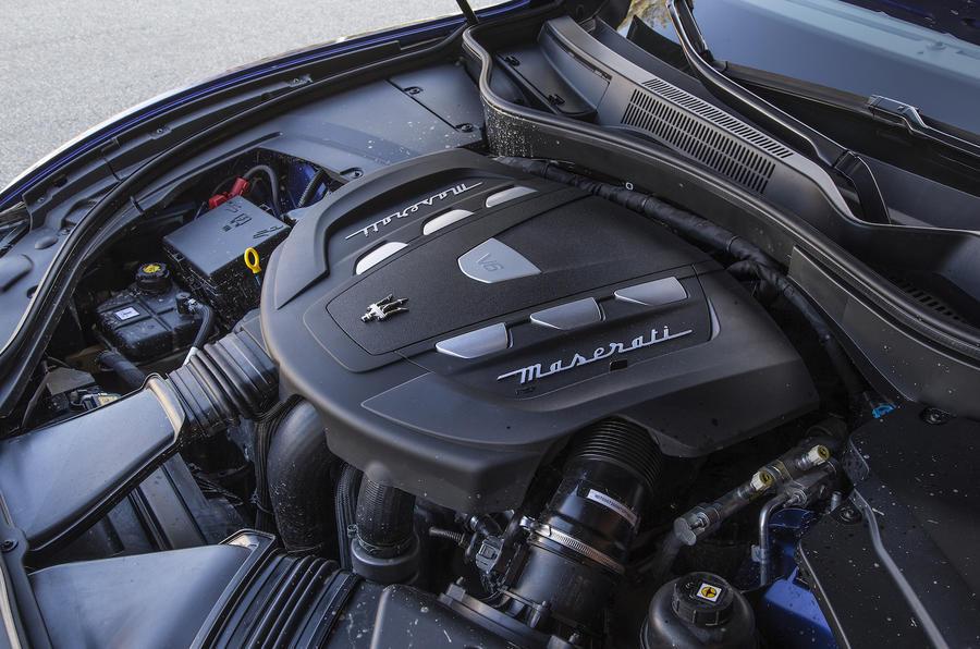 Maserati Levante SUV diesel engine