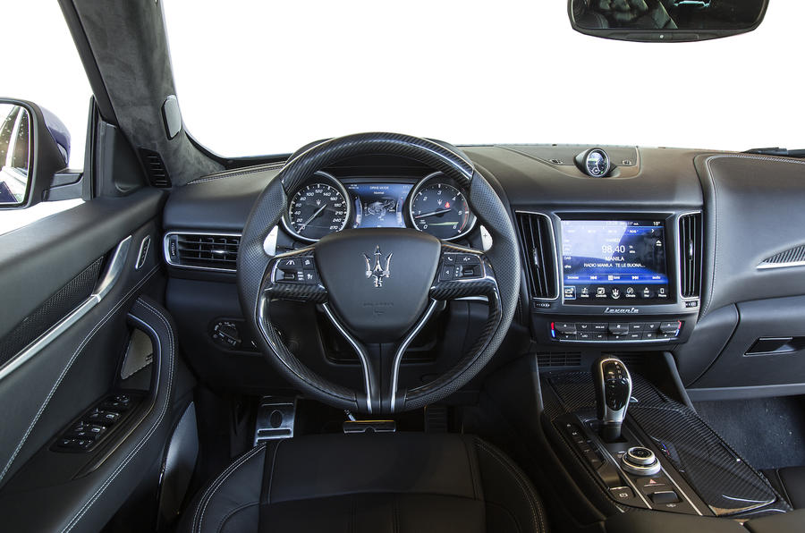 Maserati Levante dashboard