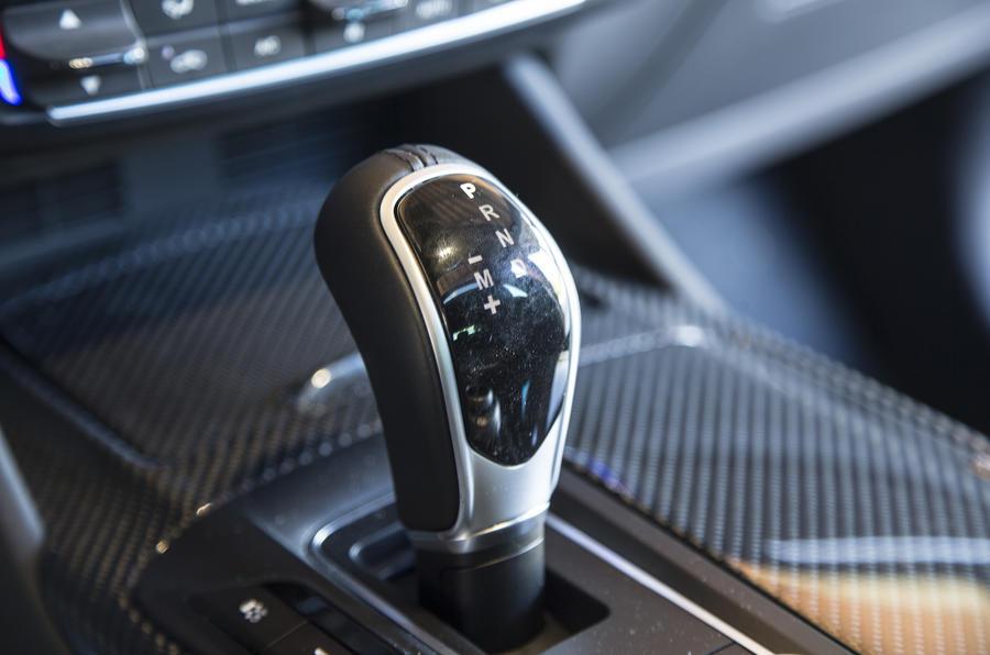Maserati Levante auto gearbox