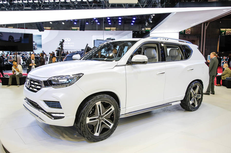 New Ssangyong Liv 2 Concept Unveiled At Paris Motor Show