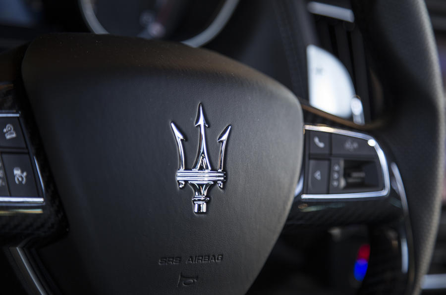 Maserati Levante SUV steering wheel