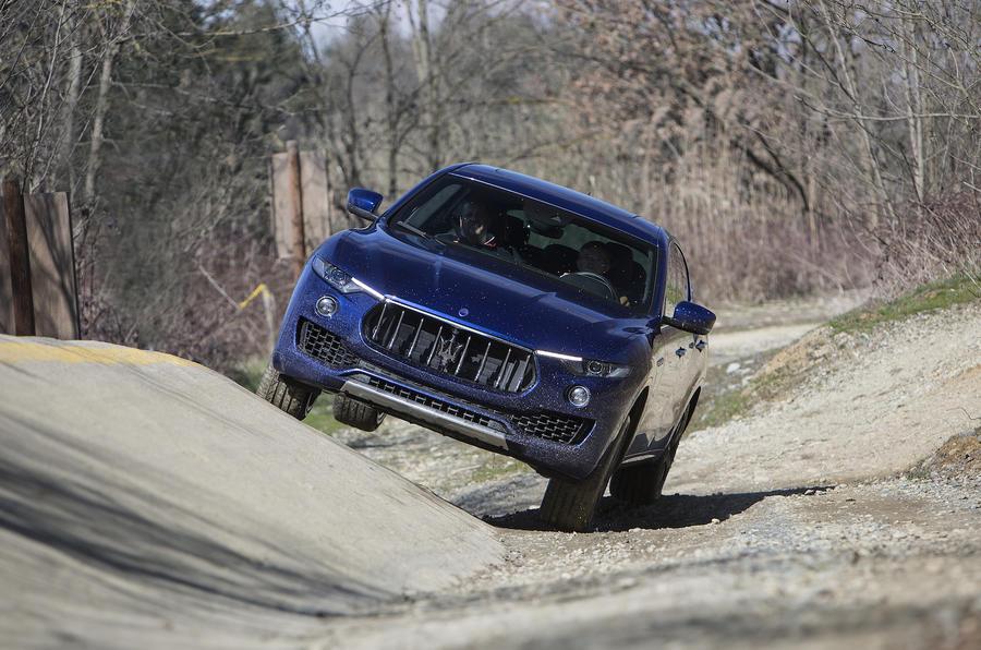 Maserati Levante off-roading