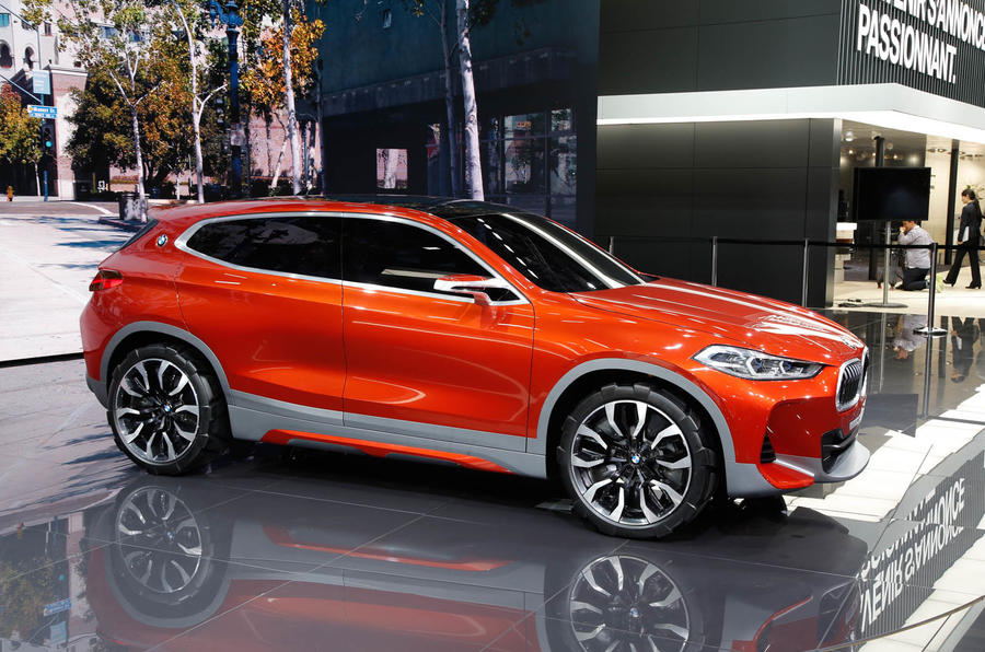 2018 Bmw X2 Previewed With Paris Motor Show Concept Autocar