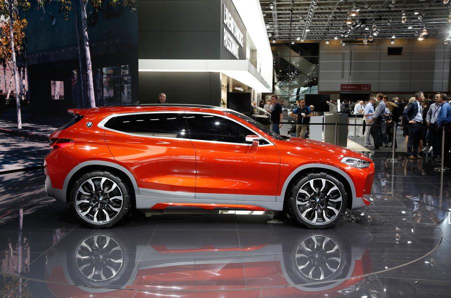 Range Rover Suv >> 2018 BMW X2 previewed with Paris motor show concept | Autocar
