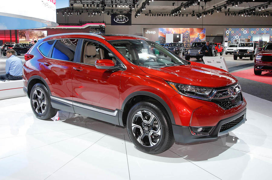 New Honda CRV revealed but UK sales on hold until late 2017