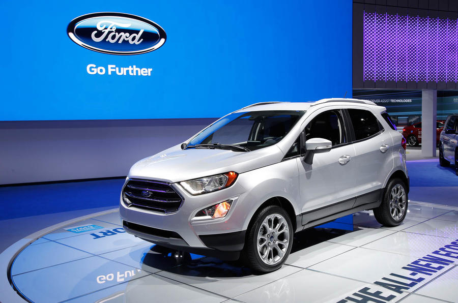 2017 Ford Ecosport Previewed In All New US Model