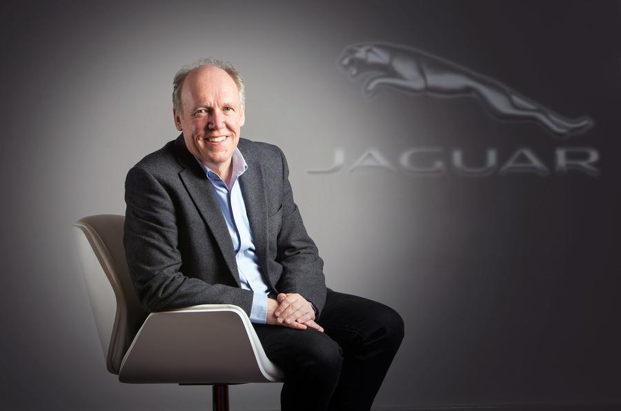 Jaguar designer Ian Callum