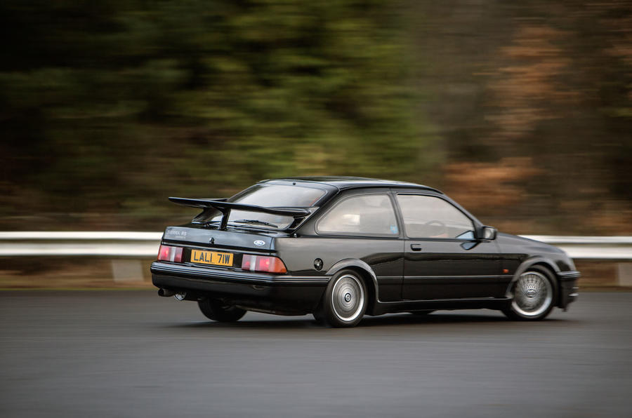 driving the ford sierra cosworth rs500 autocar. Black Bedroom Furniture Sets. Home Design Ideas