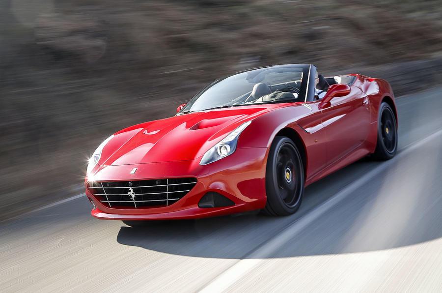 4 star Ferrari California Handling Speciale