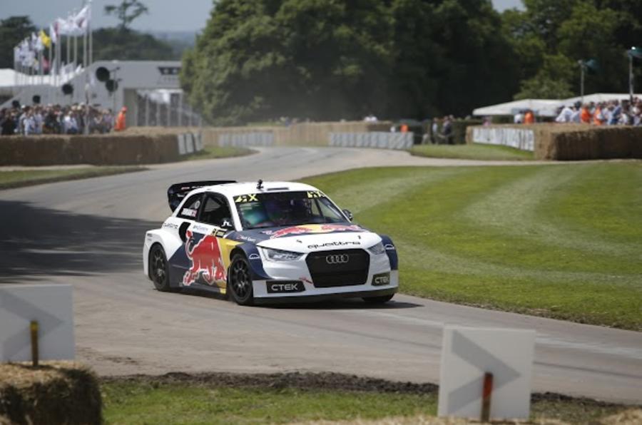 Audi Rallycross car 2016 Goodwood Festival of Speed