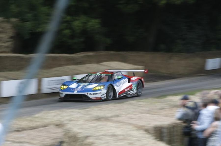 2016 Goodwood Festival of Speed Ford GT Le Mans