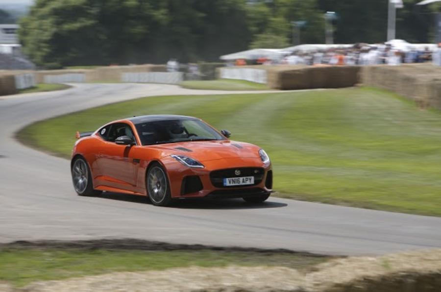 2016 Goodwood Festival of Speed Jaguar F-Type SVR