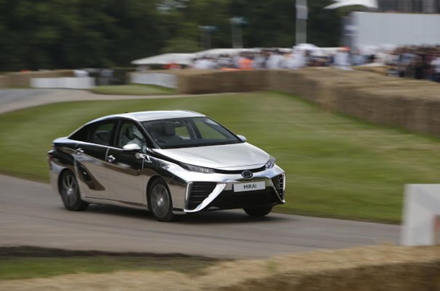 2016 Goodwood Festival of Speed Toyota Mirai