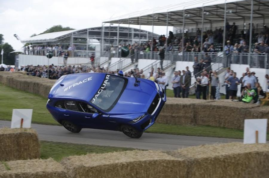 Jaguar F-Pace Goodwood Festival of Speed