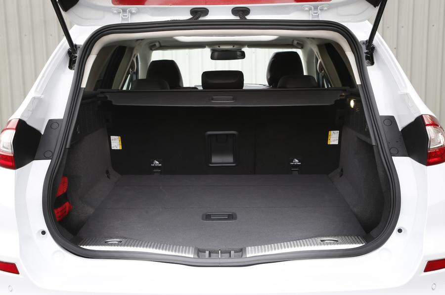 Ford Mondeo Estate boot space