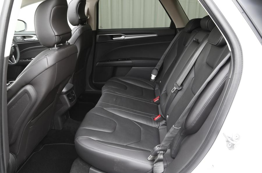 Ford Mondeo Estate rear seats