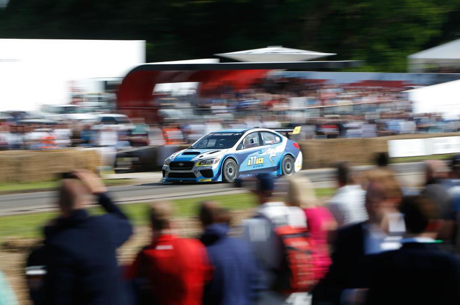 2016 Goodwood Festival of Speed Subaru Isle of Man TT car